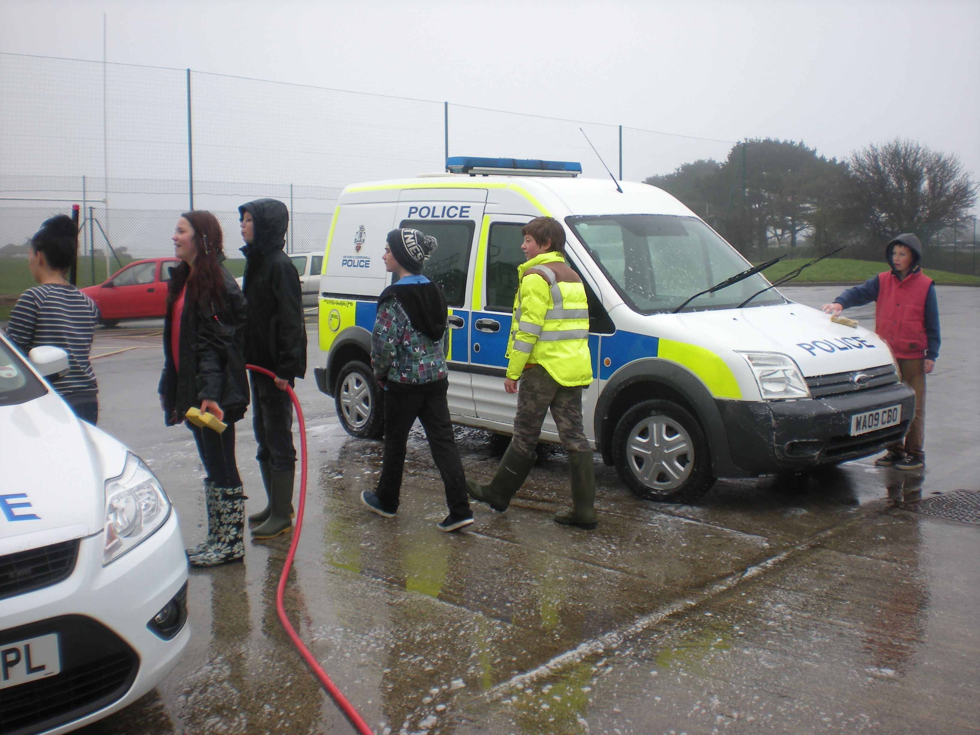 Heartstart Helston Phoenix Project – CAR WASH fund raiser
